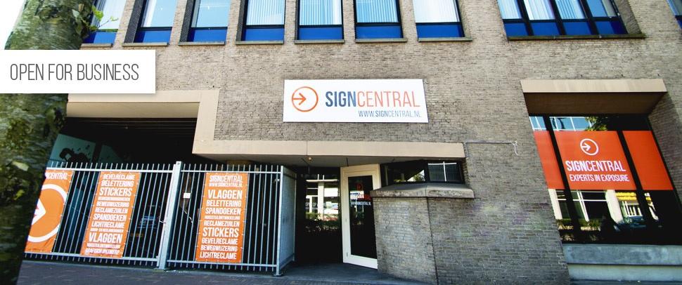 Signcentral Spoorlaan 346 Tilburg www.signcentral.nl