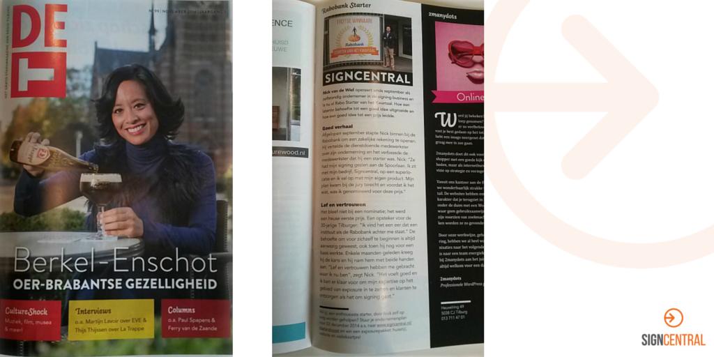 Signcentral Magazine DeT