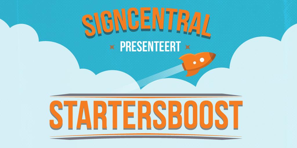 Signcentrel Startersboost